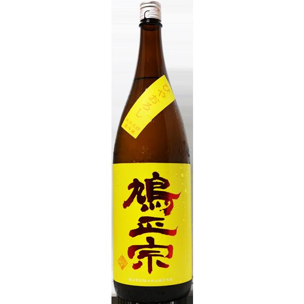 鳩正宗 純米酒 華吹雪60 ひやおろし 1.8L