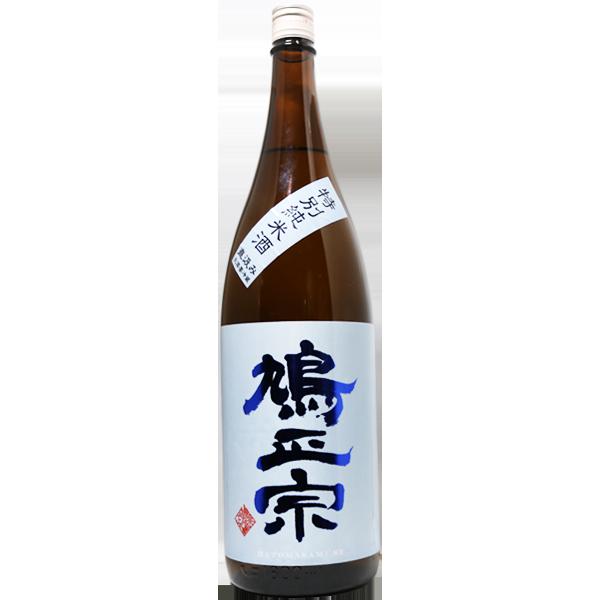 鳩正宗 特別純米酒 直汲みブルー 1.8L