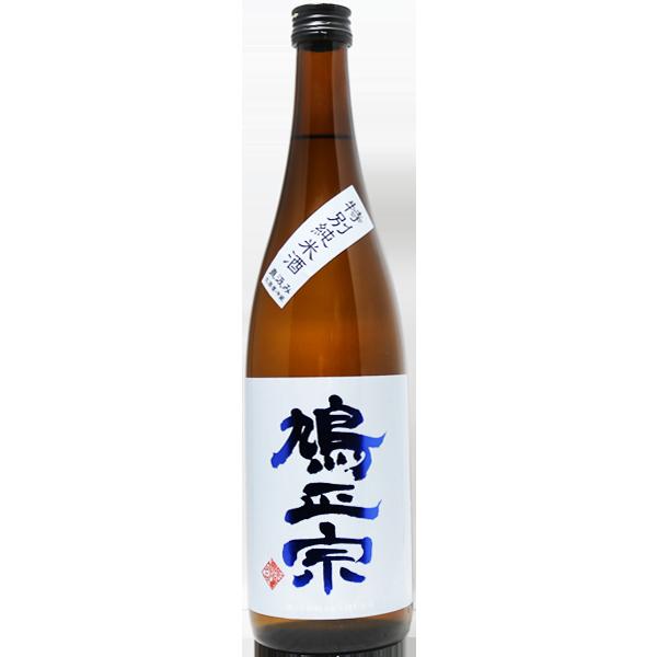 鳩正宗 特別純米酒 直汲みブルー 720ml