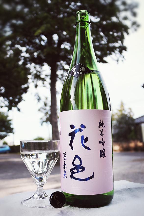 花邑 純米吟醸 酒未来 生酒 1.8L