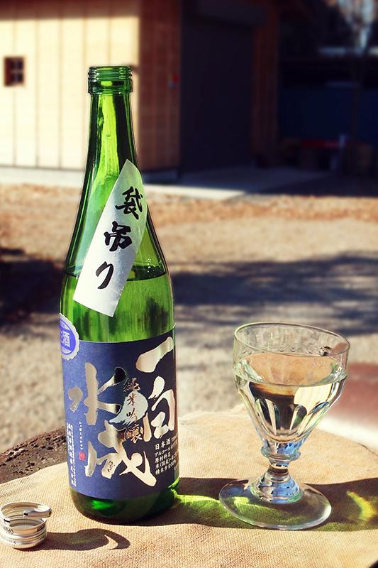 一白水成 純米吟醸 袋吊り 生原酒 1.8L