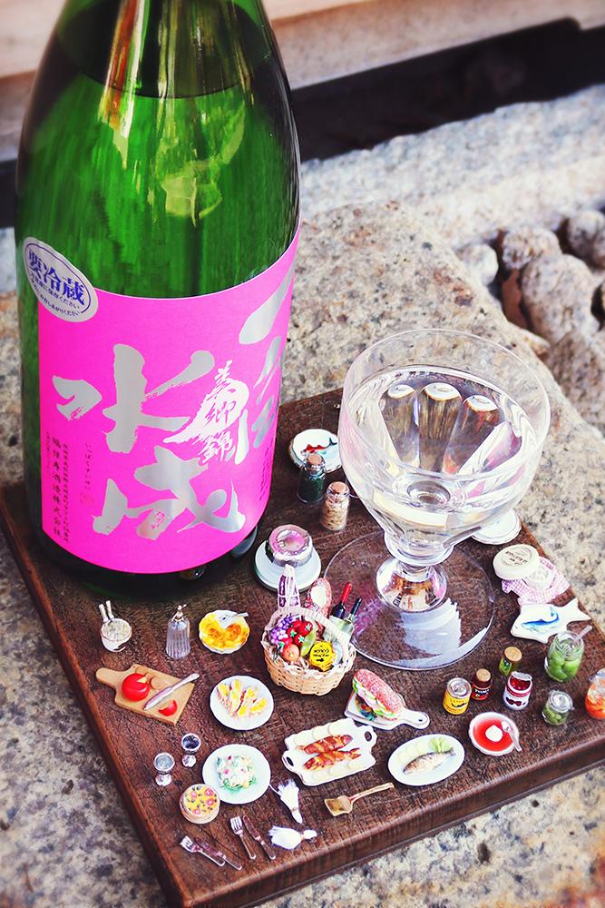 一白水成 純米吟醸 美郷錦 1.8L
