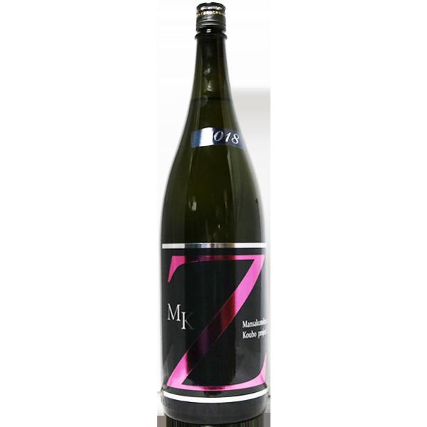 まんさくの花 MK-Z 純米吟醸原酒 1.8L