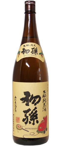 初孫 生もと純米酒 1.8L
