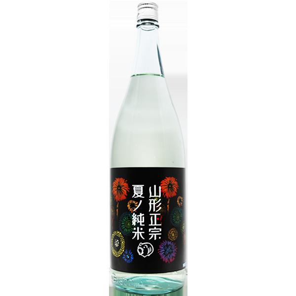 山形正宗 夏ノ純米 花火ラベル 1.8L
