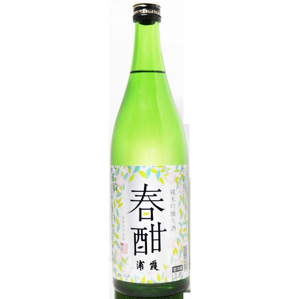 浦霞 春酣 純米吟醸生酒 720ml