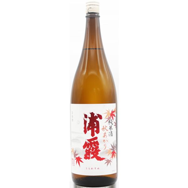 浦霞 純米酒 秋あがり 1.8L