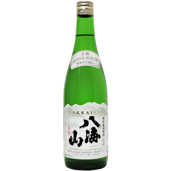 八海山 特別純米原酒 720ml