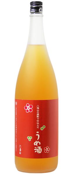 八海山の焼酎で仕込んだうめ酒 1.8L
