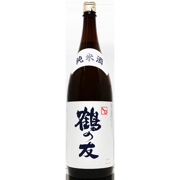 鶴の友 純米 1.8L