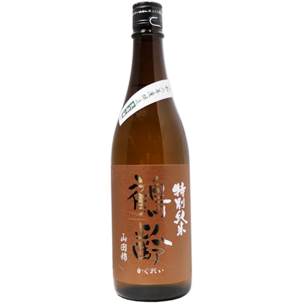 鶴齢 特別純米 山田錦 生原酒 720ml