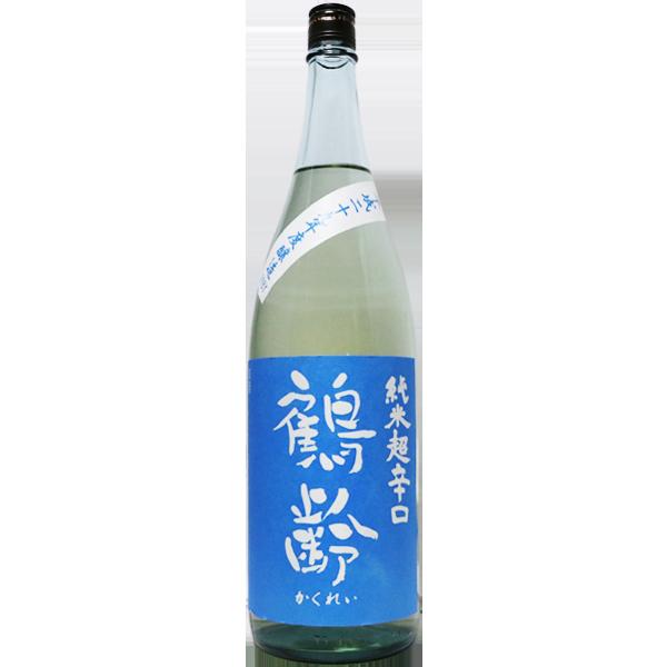 鶴齢 純米超辛口 1.8L