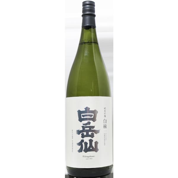 白岳仙 白練 純米吟醸 1.8L