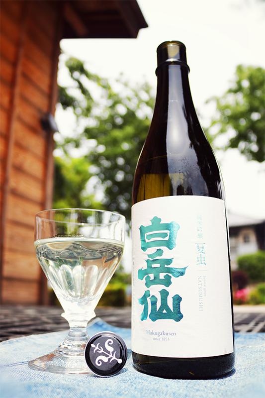 白岳仙 純米吟醸 夏虫 NATSUMUSHI 1.8L