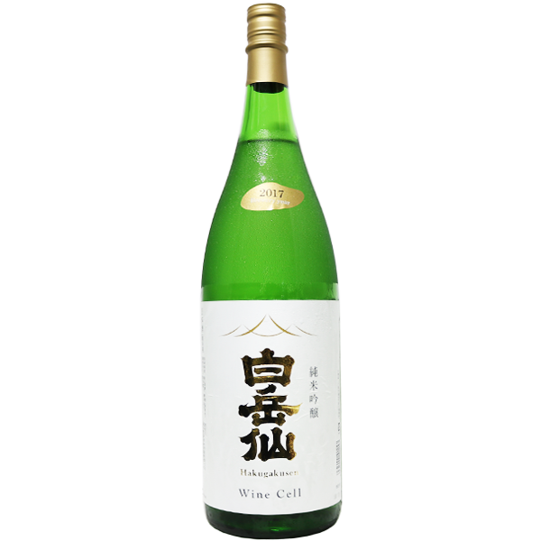 白岳仙 WineCell 純米吟醸 1.8L