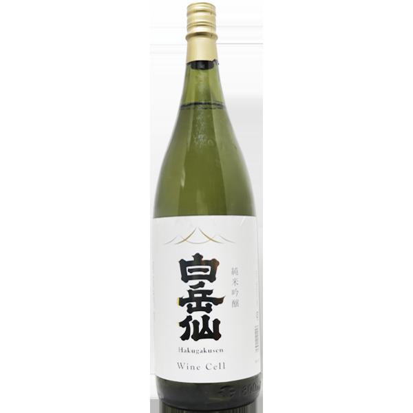 白岳仙 Wine Cell 純米吟醸 1.8L