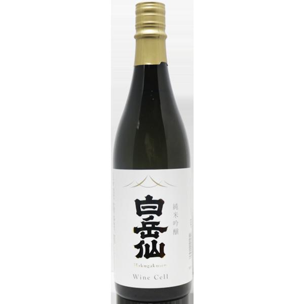 白岳仙 Wine Cell 純米吟醸 720ml