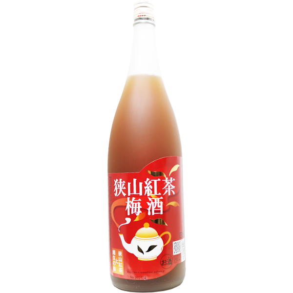 狭山紅茶梅酒 1.8L