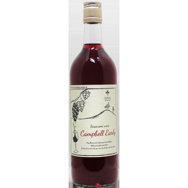 ササナミワイン キャンベルアーリー 720ml