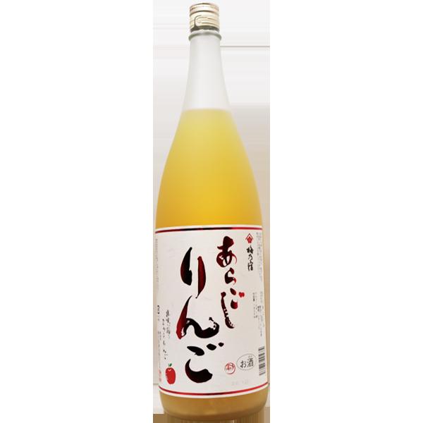 梅乃宿 あらごしりんご酒 1.8L