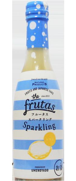 梅乃宿 FRUTAS フルータス  スパークリング レモン 250ml