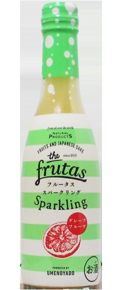 梅乃宿 FRUTAS フルータス  スパークリング グレープフルーツ 250ml