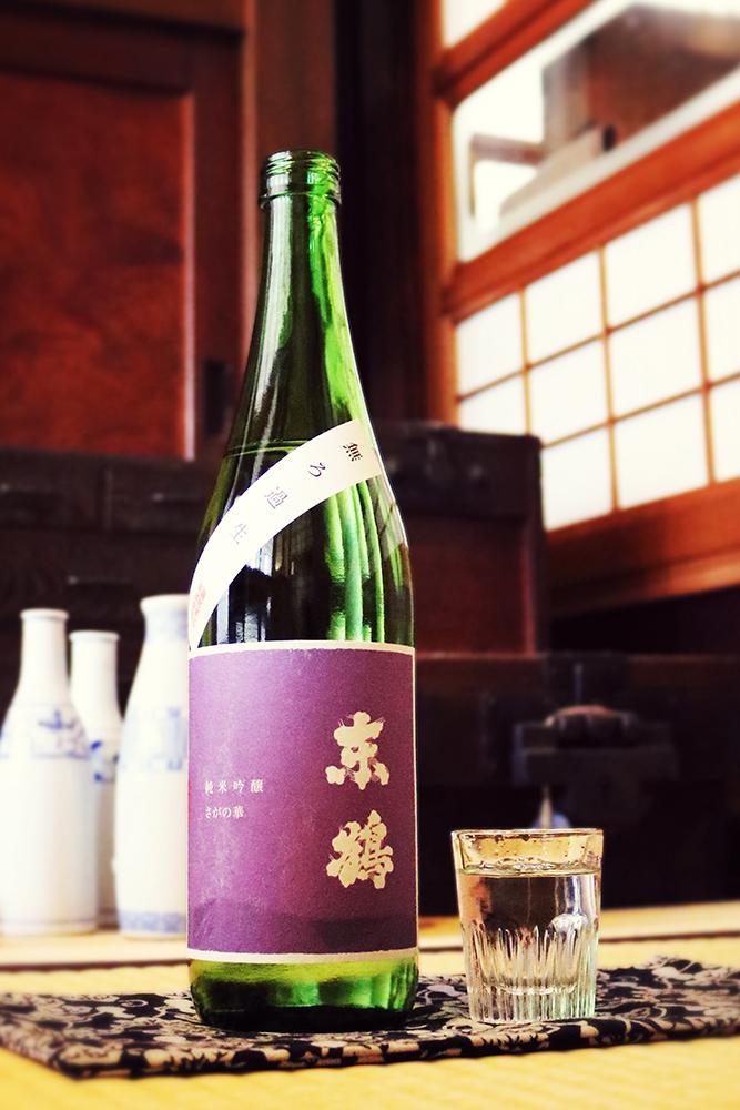 東鶴 純米吟醸 さがの華 無濾過生 1.8L