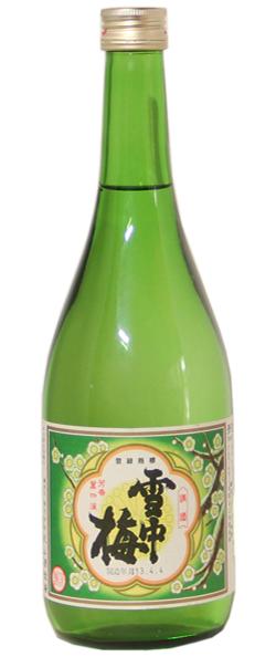 雪中梅 清酒 720ml