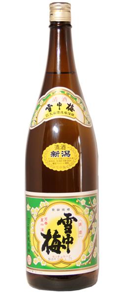 雪中梅 清酒 1.8L