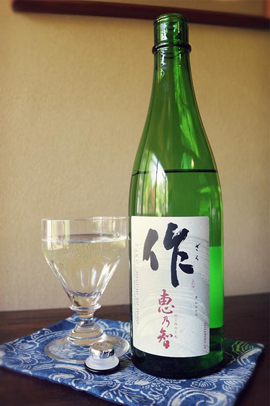 作 恵乃智 純米吟醸 1.8L