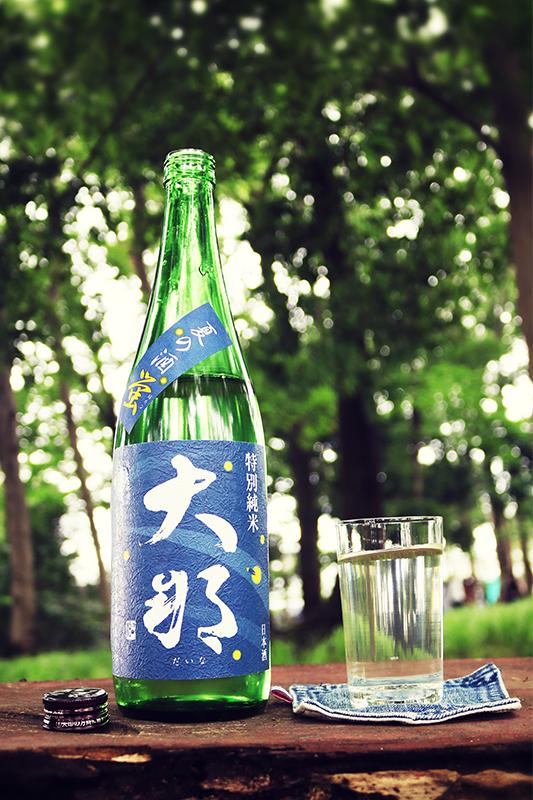 大那 夏の酒 蛍 特別純米 1.8L