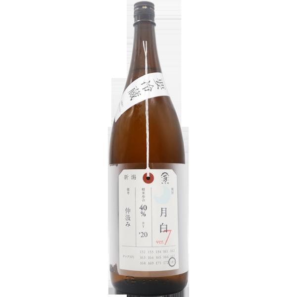加茂錦 荷札酒 月白 純米大吟醸 1.8L