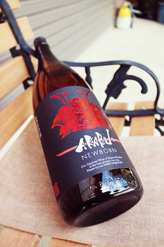 赤武 AKABU F 吟醸酒 NEW BORN 1.8L