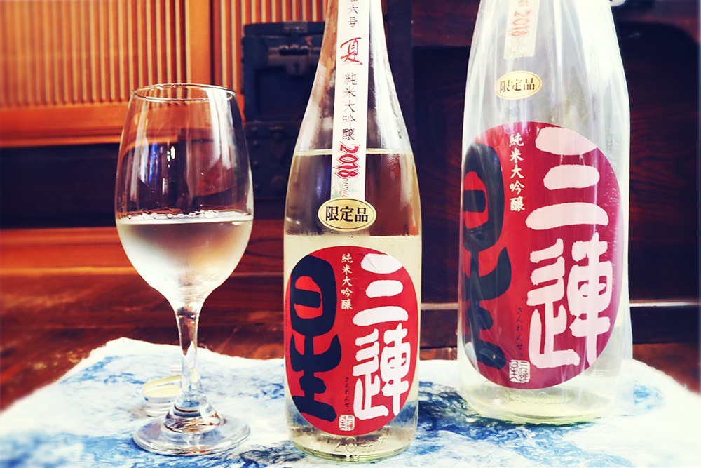 三連星 夏の純米大吟醸 無濾過生原酒 720ml