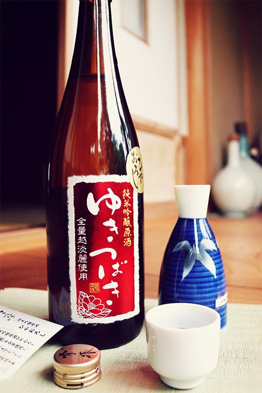 ゆきつばき 純米吟醸原酒 ひやおろし 1.8L