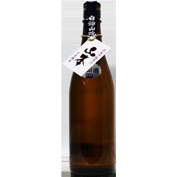 白瀑 山本 6号酵母 純米吟醸 720ml