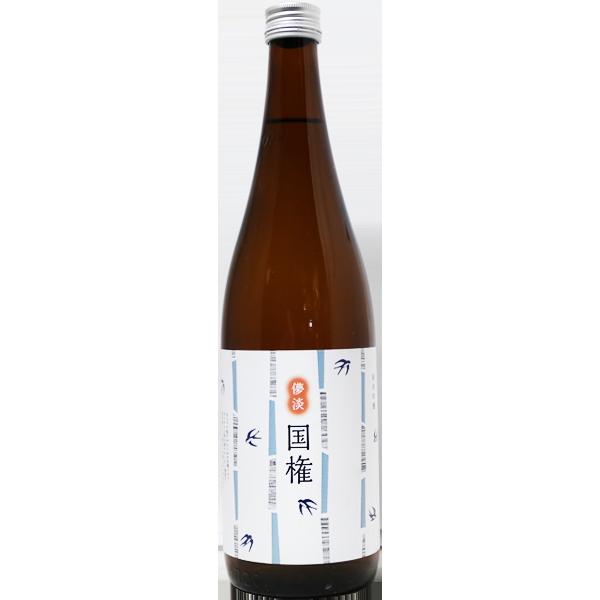 國権 スワローラベル 純米吟醸原酒 720ml