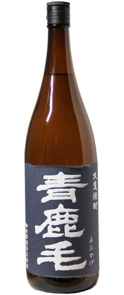 青鹿毛 麦焼酎 25% 1.8L