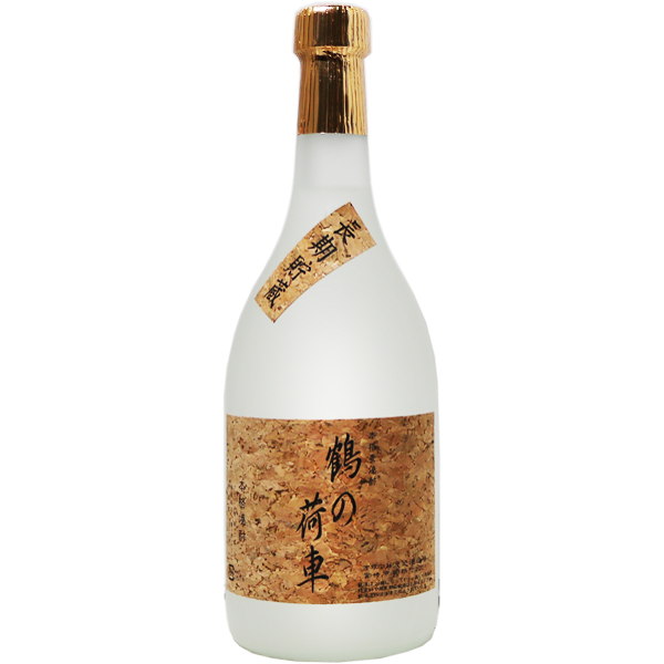 萬年 鶴の荷車 麦焼酎 41% 720ml