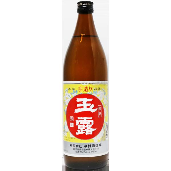 玉露 白麹 芋焼酎 25% 900ml