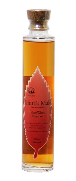 イチローズモルト ワインウッドリザーブ 赤葉 46% 200ml